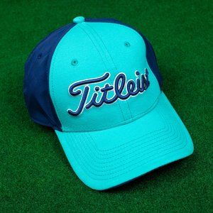 Titleist Navy/Aqua Adjustable Hat